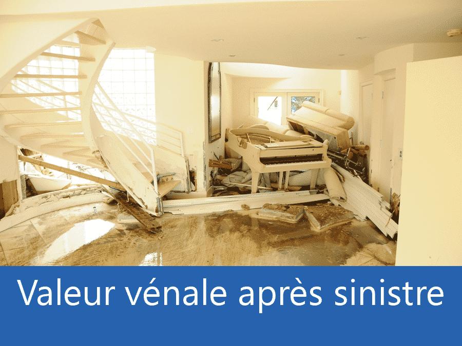valeur vénale après sinistre 17, valeur dégâts après sinistre Royan, avis valeur sinistre Charente Maritime,