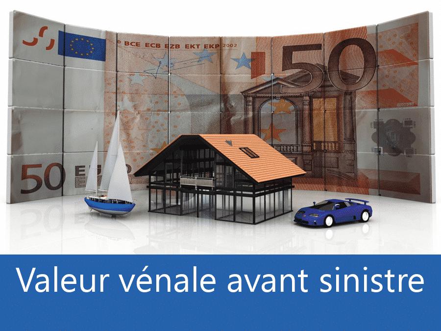 Valeur vénal avant sinistre 17, valeur des biens assurance Royan, expert valeur vénale Charente Maritime,